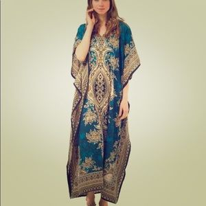 Other - Caftan Blue Free Size Made In India